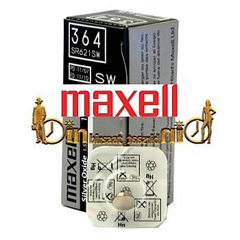 MAXELL 364 SR621SW 10 LU Saat Pili