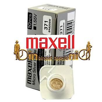 MAXELL 371 SR920SW 10 LU Saat Pili