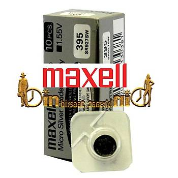 MAXELL 395 SR927SW 10 LU Saat Pili