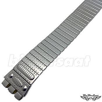 SWC1617M-015 Swatch Uyumlu Yaylý Çelik  16mm Kasa Giriþi 17,5cm Uzunluk