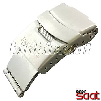 Çelik 3 Katlamalý Yandan Basmalý Emniyetli Kilit 20 mm