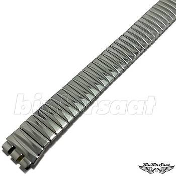 SWC1617M-009 Swatch Uyumlu Yaylý Çelik  16mm Kasa Giriþi 17,5cm Uzunluk