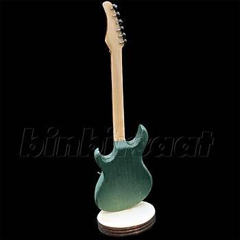 MY-07 Minyatür Enstrüman Elektro Gitar