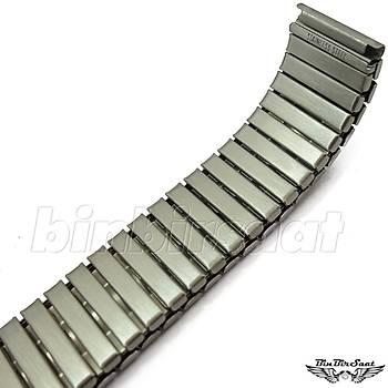 Yaylý Çelik Saat Kordonu 18mm YY18M-2