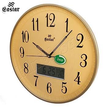Eastar Analog-Dijital Duvar Saati, Termometre, Takvim, Saat 5123 C