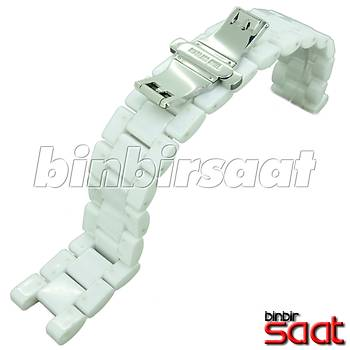 SRM20M Seramik Beyaz Saat Kordonu 20mm