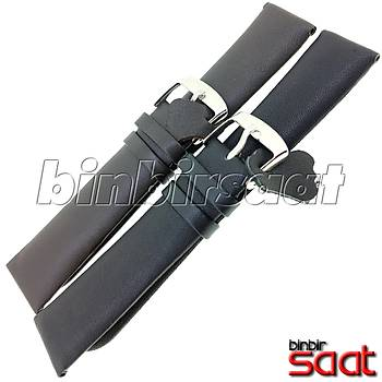 L04/D Bando Hakiki Deri Antialerjik Saat Kordonu 2 Renk Seçenekli 18-20-22-24mm
