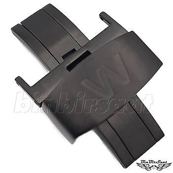 W-01 Welder Uyumlu Çelik Klips - 22mm - Siyah