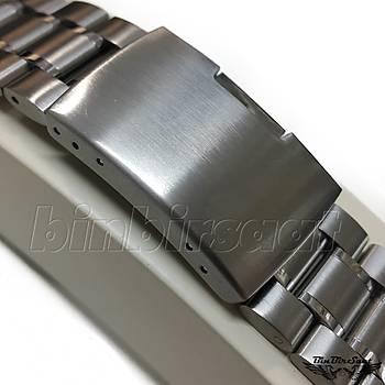 KVS202224-4 Paslanmaz Çelik Saat Kordonu Kavisli 4 Renk Seçenek 16-18-20-22-24 mm