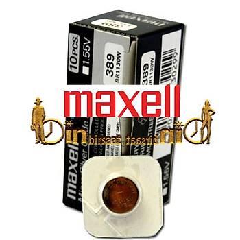MAXELL 389 SR1130W 10 LU Saat Pili