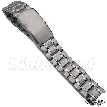 OMG18-1 Omega Uyumlu Çelik Saat Kordonu - 18mm