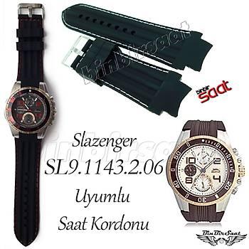 Slazenger SL9.1143.2.06 Uyumlu  Silikon Saat Kordonu