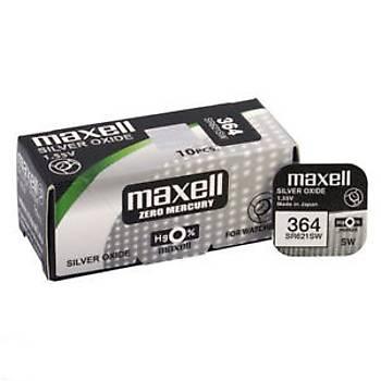 MAXELL 364 SR621SW 1 Adet Saat Pili