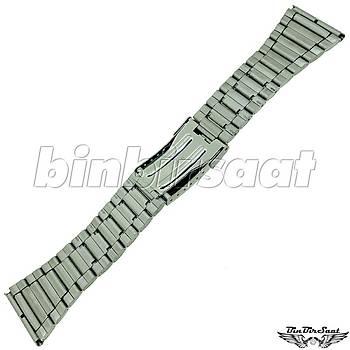 TRK2820M-1A Paslanmaz Çelik Saat Kordonu 28mm Kasa Giriþi