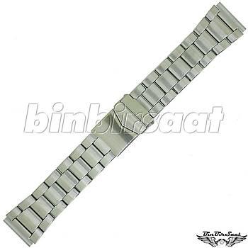TRK2220M-1A Paslanmaz Çelik Saat Kordonu 22mm Kasa Giriþi