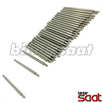 Çelik Saat Pimleri (1 adet) 12-14-16-18-20-22-24-26-28-30-32-34 mm