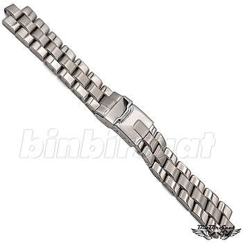 BRT18-1 Breitling Uyumlu Çelik Saat Kordonu - 18mm