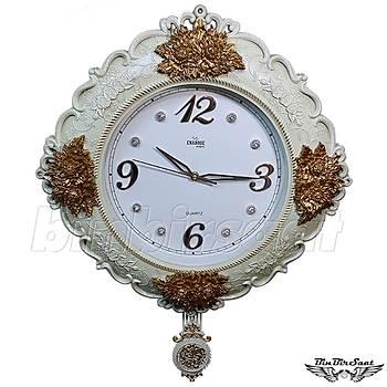 Enarose Klasik Duvar Saati Sarkaçlý ENR1001-1