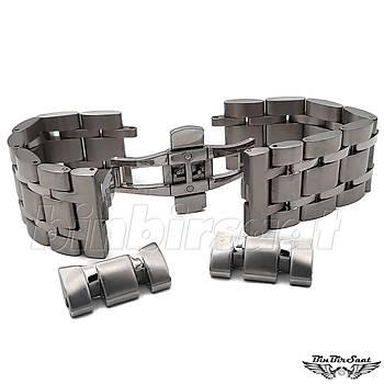 TST24-1 Tissot Uyumlu Çelik Saat Kordonu - 24mm