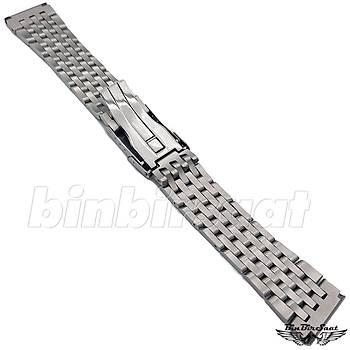 BRT22-1 Breitling Uyumlu Çelik Saat Kordonu - 22mm