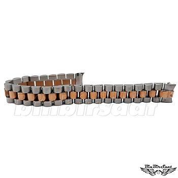 RLX1312M-3 Rolex Date Just Uyumlu Bayan Çelik Saat Kordonu 13mm