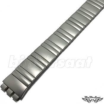SWC1617M-010 Swatch Uyumlu Yaylý Çelik  16mm Kasa Giriþi 17,5cm Uzunluk