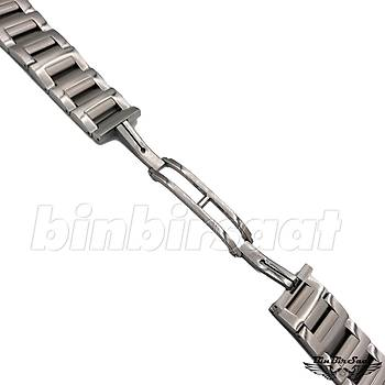BLG-22-1 Bvlgari Uyumlu Çelik Saat Kordonu - 22mm