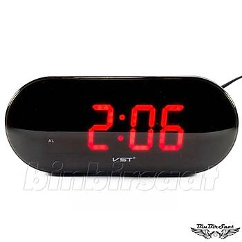 ENAROSE Digital Led  Masa Saati, Alarm Snooze E717-1