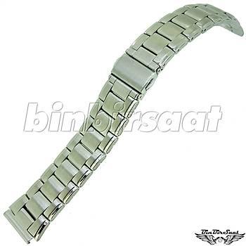 TRK1818M-1B Paslanmaz Çelik Saat Kordonu 18mm Kasa Giriþi