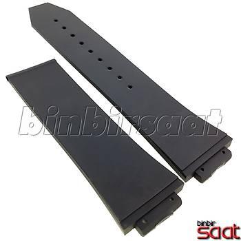 HBL2824-5 Hublot King ve Benzer Modellere Uyumlu Silikon Saat Kordonu - 3 Renk