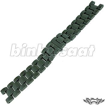 GCS20M-1 Paslanmaz Çelik Siyah Saat Kordonu 20mm