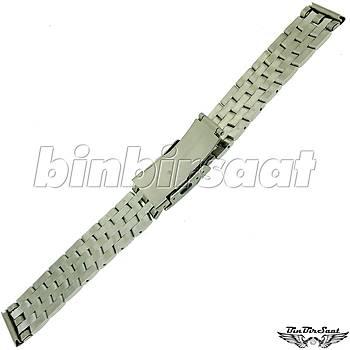 TRK1818M-1A Paslanmaz Çelik Saat Kordonu 18mm Kasa Giriþi