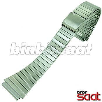 TLM19M Casio Uyumlu Çelik Saat Kordonu 19mm