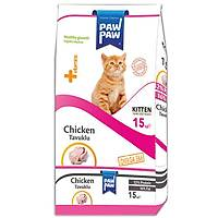 Paw Paw Kitten Tavuk Etli Yavru Kedi Mamasý 15 Kg