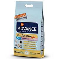 Advance Mini Sensitive Somonlu Küçük Irk Köpek Mamasý 3 Kg