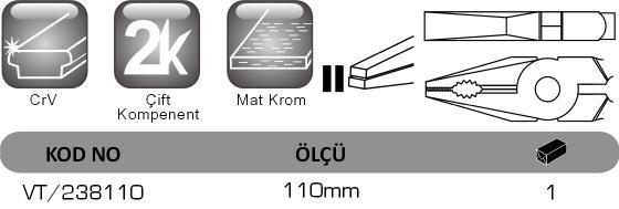 VT 238110 Vip-Tec, mikro pense.