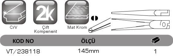 VT 238118 Vip-Tec, mikro iðne kargaburun.