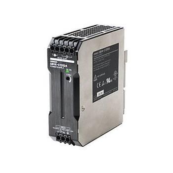 24VDC 5A (120W) Giriþ:100-240VAC Ray Tipi Güç Kaynaðý S8VK-C12024 OMRON