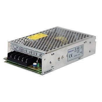 12VDC 12,5A (150W) Giriþ:110/230VAC Delikli Tip Güç Kaynaðý S150-12 KESUOPOWER