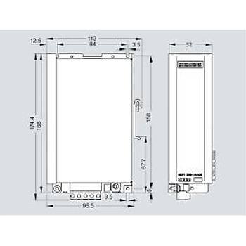 6EP1233-1AA00 24VDC 6A (150W) Giriþ:230VAC Ray Tipi Güç Kaynaðý SIEMENS