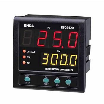 ETC9420 230VAC 96x96mm Fonksiyonel Dijital PID/On-Off Isý Kontrol Cihazý (Termostat) ENDA
