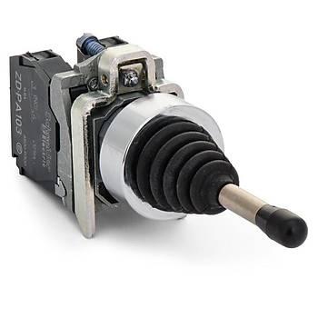 XD4PA12 22mm 2 Yön Hareketli Kalýcý Joystick SCHNEIDER