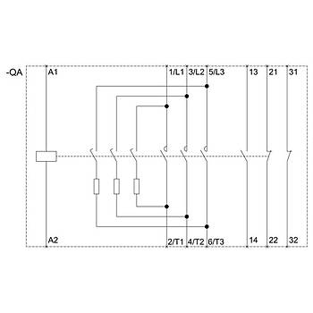 3RT2628-1AP05 11...33 KVAR Kondansatör Kontaktörü Sirius SIEMENS
