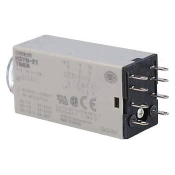 H3YN-21 24VDC Analog Zaman Rölesi OMRON