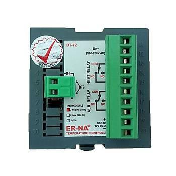 DT-72 J Tipi (Fe-Const) 72x72mm Dijital Isý Kontrol Cihazý ER-NA