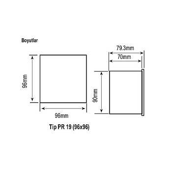 EPM-04-96 Dijital Multimetre ENTES