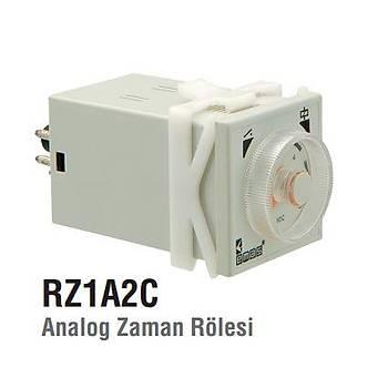 RZ1A2C30S-5 3...30sn 220V AC Analog Zaman Rölesi EMAS