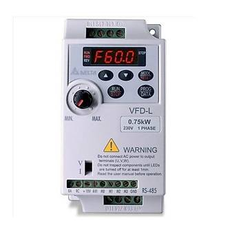 VFD007L21A 0.75 KW Tek Faz 220VAC Beslemeli Sürücü DELTA