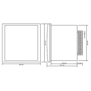 EM-04S Setli Multimetre (X/5A, Pano Tipi) TENSE