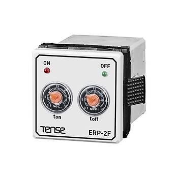 ERP-2F Panel Tipi Multifonksiyonlu Flaþör Zaman Rölesi TENSE